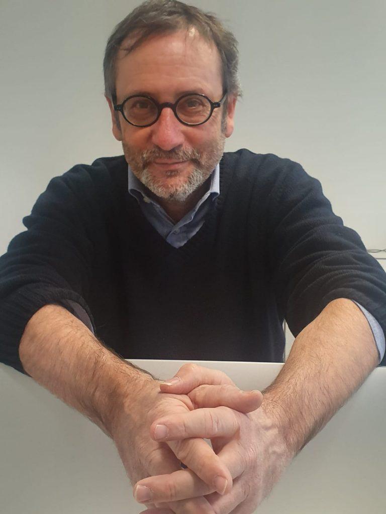 Massimo Cassani, writer. Credits to Dario De Andrea